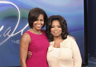 Oprah Winfrey, Michelle Obama