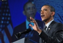 US President Barack Obama speaks at the