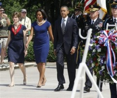 Barack Obama, Karl Horst, Nancy Horst, Nancy Horst