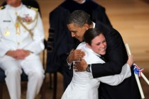 President Obama Gives Commencement Address At Coast Guard Academy