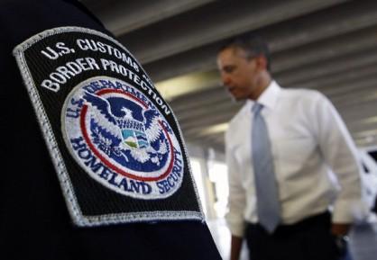 U.S. President Obama tours the Bridge of America Cargo Facility in El Paso