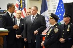 US President Barack Obama speaks to poli