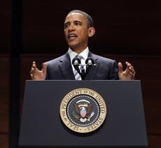 President Obama delivers coast guard commencement address
