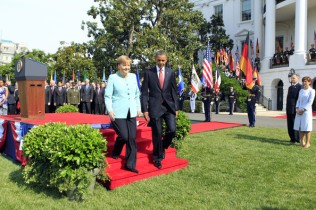 Angela Merkel Guard of Honor28