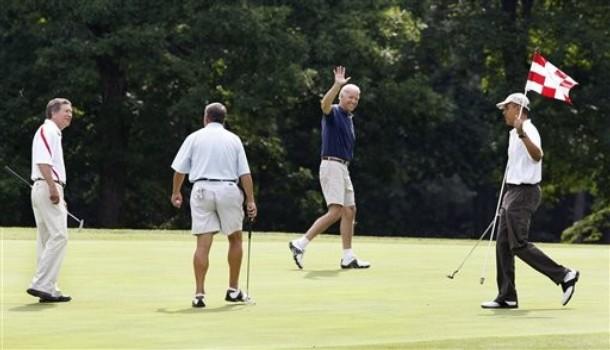 Barack Obama, John Boehner, Joe Biden, John Kasich