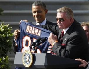 Barack Obama, Mike Ditka