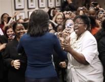 Michelle Obama, Sharon Duke