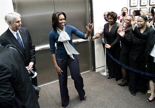 Flotus visits Secret Service Headquarters15