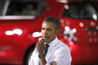 President Obama Visits General Motors Plant With South Korean President