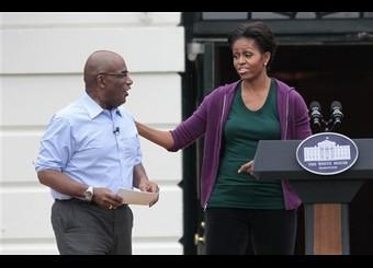 Michelle Obama, Al Roker