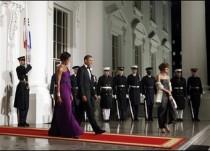 Barack Obama, Michelle Obama, Capricia Penavic Marshall