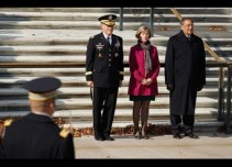 President Obama Attends Wreath Laying Ceremony At The Tomb Of The Unknowns