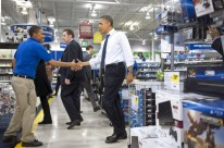 President Obama Goes Shopping