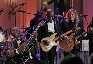 B.B. King, Warren Haynes, Buddy Guy