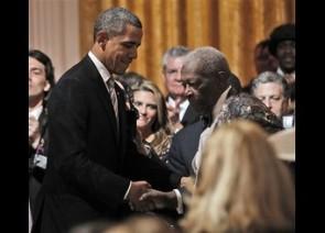 Barack Obama, B.B. King