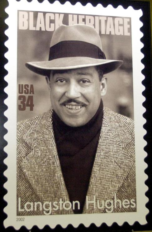 biography of langston hughes 2015-1-14 (james) langston hughes began writing in high school, and even at this early age was developing the voice that made him famous hughes was born in joplin, missouri, but lived with his grandmother in lawrence, kansas until he was thirteen and then with his mother in lincoln, illinois and cleveland, ohio where he went to high.