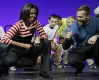 Michelle Obama, Bob Harper