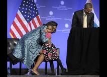 Barack Obama, Michelle Obama, Piper Shillingford