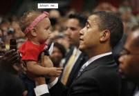 President Obama & Babies10