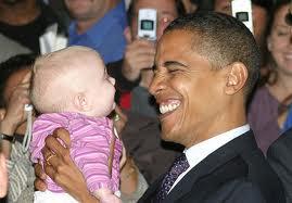 President Obama & Babies11