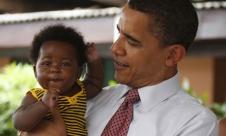 President Obama & Babies24
