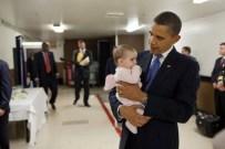 President Obama & Babies6