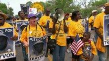 Protestors Rally
