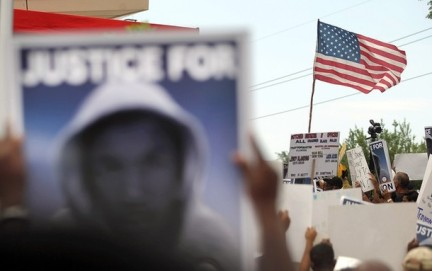 NAACP Leads March For Justice In Trayvon Martin Killing In Florida