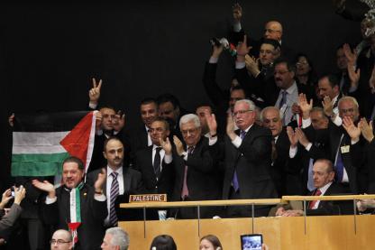 Palestinians celebrate 4