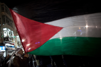 Palestinians celebrate 9
