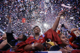 Supporters celebrate Obama14