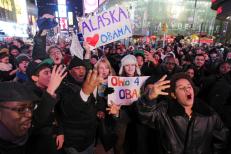 Supporters celebrate Obama9