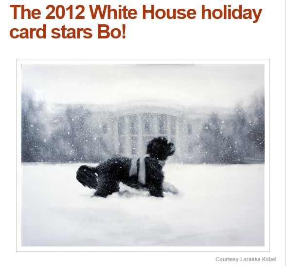 2012 Holiday card