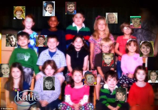 An entire class murdered - Emilie Parker missing from the picture