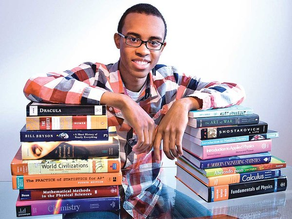 Cameron Clarke, 18, a Germantown Academy senior, is one of 360 students nationwide…