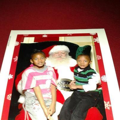 Jay and Haley Christmas photo