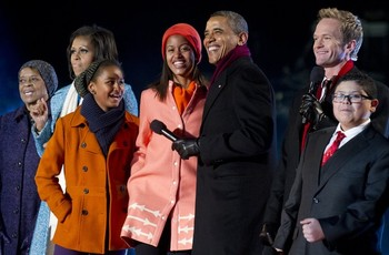 lighting of the National Christmas Tree12