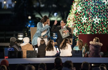 lighting of the National Christmas Tree14