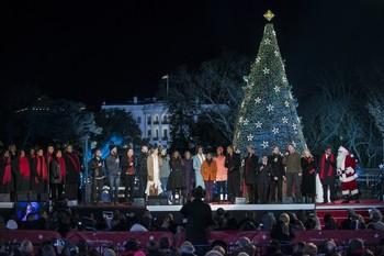 lighting of the National Christmas Tree22