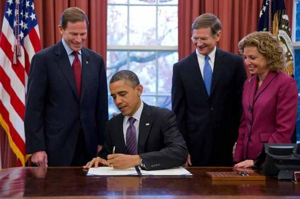 President Obama signs H.R. 6063, the Child Protection Act!