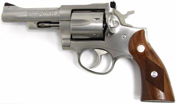 six caliber handgun