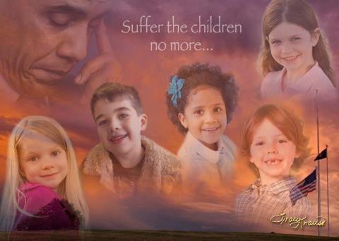 Suffer the children no more...