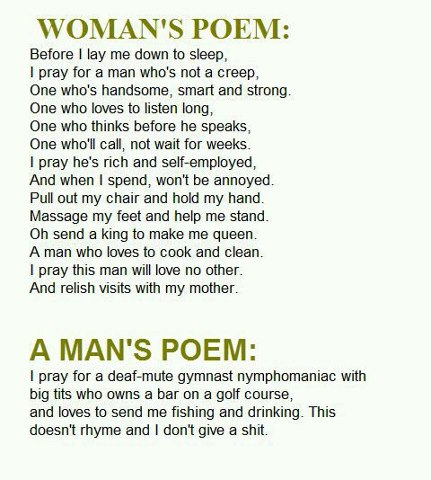 A woman's poem