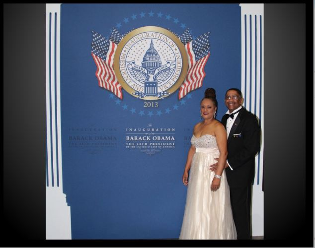 Cecil and Marsha Webster At The President's Inaugural Ball