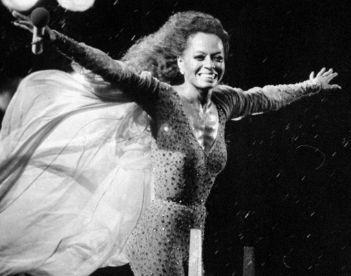 diana ross in central park