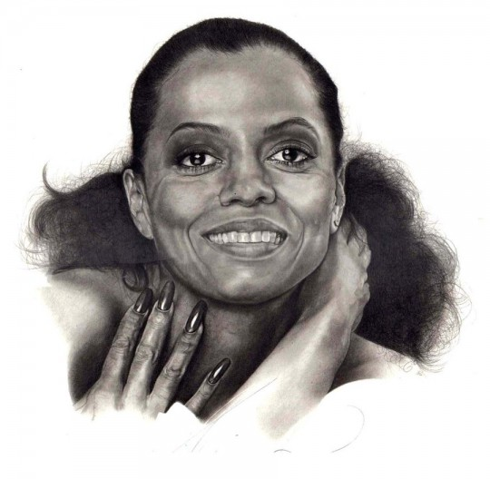 diana ross portrait-2