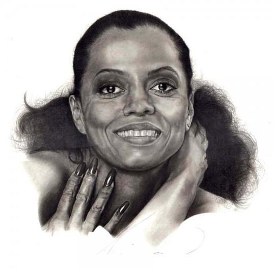 diana ross portrait-2