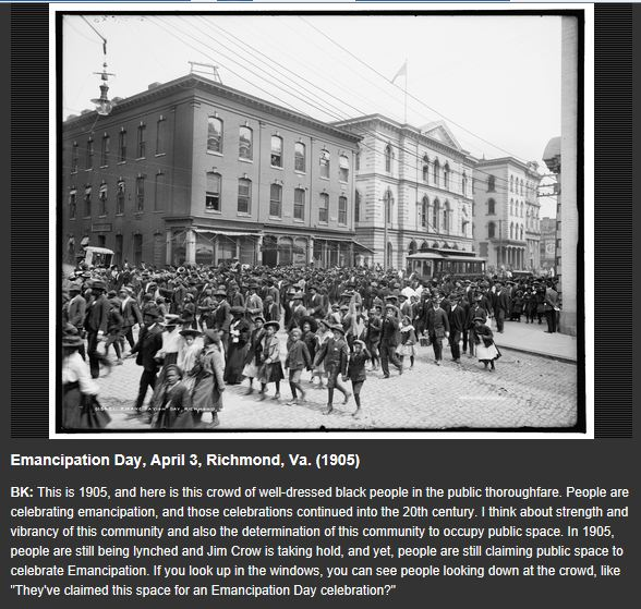 Emancipation Day Richmond Va 1905