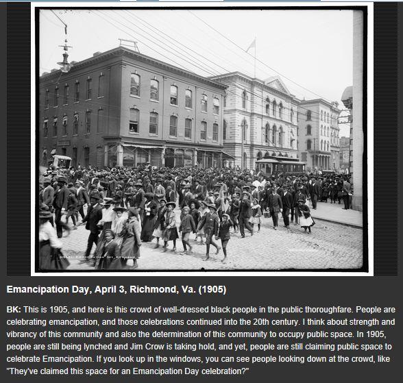 Emancipation Day Richmond Va 1905