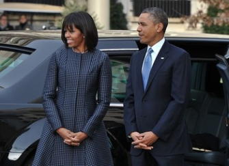 First Family on their way to Church2